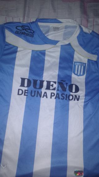Vendo Camiseta De Racing Olimpikus Estampada !!