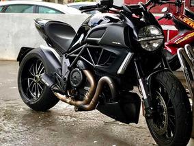 Ducati Diavel Black Abs 2013 13 C 12mil Km Somente...