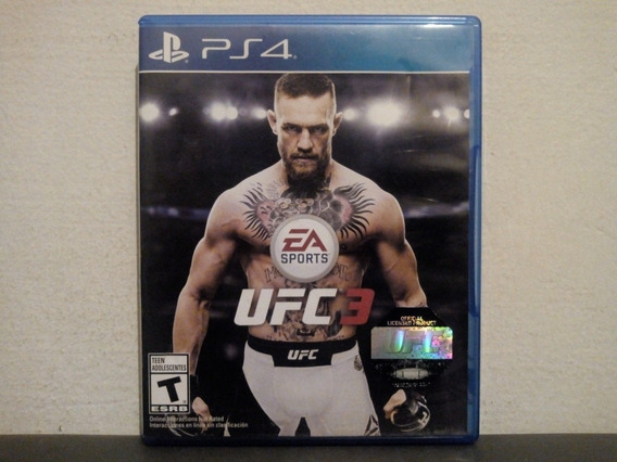 Ps4 Ufc 3 - Ea Sports Ultimate Fighting Championship - Troca