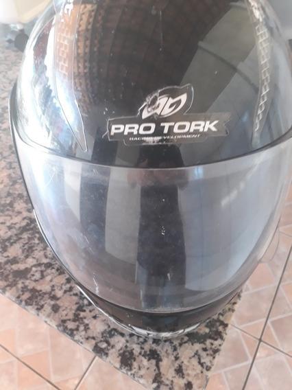Capacete Moto Fechado Protork Street Usado