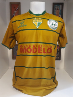 Camisa Futebol Preparada Jogo Ouro Verde Mato Grosso