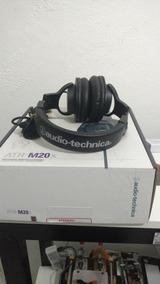 Fone De Ouvido Audio Techica Ath M20x