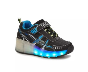Zapato Con Luces Sneaker Low Top Niño 2431284 Ferrato