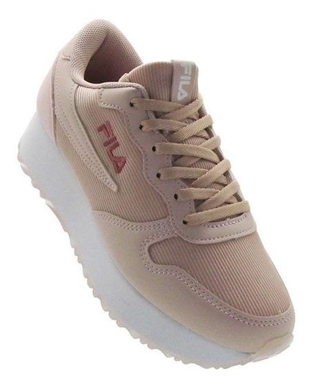 Zapatillas Fila Mujer Euro Jogger Wedge ( 827897 )