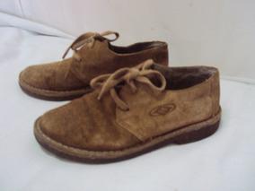 Sapato De Couro Marrom Masculino Tamanho 35