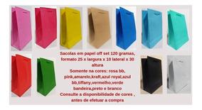 100 - Sacolas G - 25 X 10 X 31,5