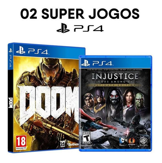Doom + Injustice: Gods Among Us - Ultimate Edition - Ps4