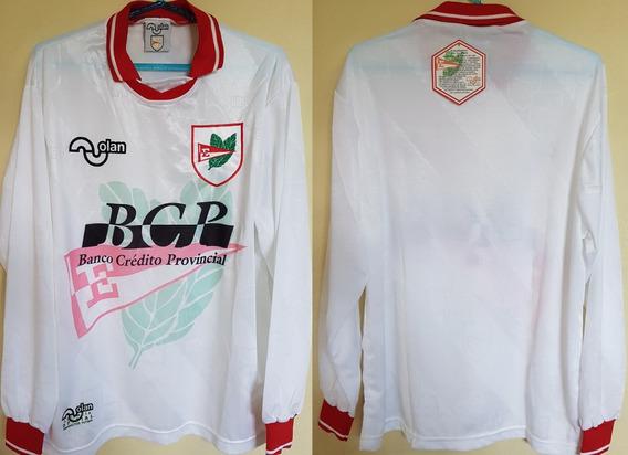 Camisa Futebol Estudiantes Argentina Olan Anos 90 M.longa