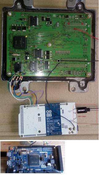 Iaw 9gv 10gm 7gf 10gf E83 Hsfi Mpc Programador Arduino Due