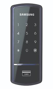 Fechadura Digital Shs-1321 Samsung - Nonaka Fechaduras.