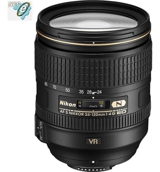 Lente Nikon 24-120mm F/4g Ed Af-s Vr - Garantia 1 Ano Nova !