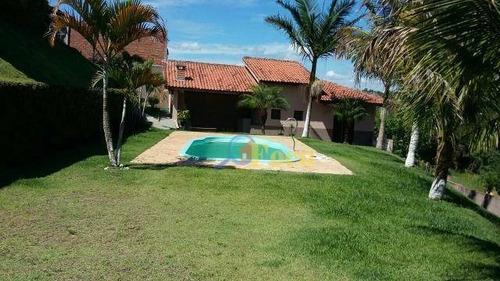 Chácara Com 2 Dormitórios À Venda, 1405 M² Por R$ 480.000,00 - Chácara San Martin I - Itatiba/sp - Ch0030