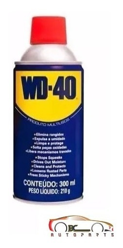 Spray Lubrificante Desengripante Wd-40 300ml