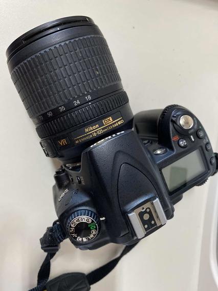 Máquina Fotográfica Nikon D90 Com Flash