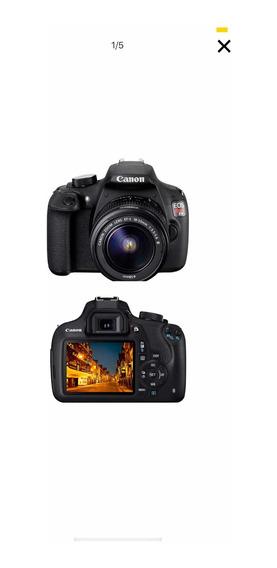 Câmera Canon T5 Rebel Impecável + Lente 18-55mm