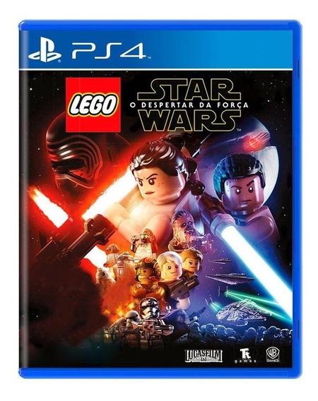 Lego Star Wars O Despertar Da Força Ps4 Mídia Física