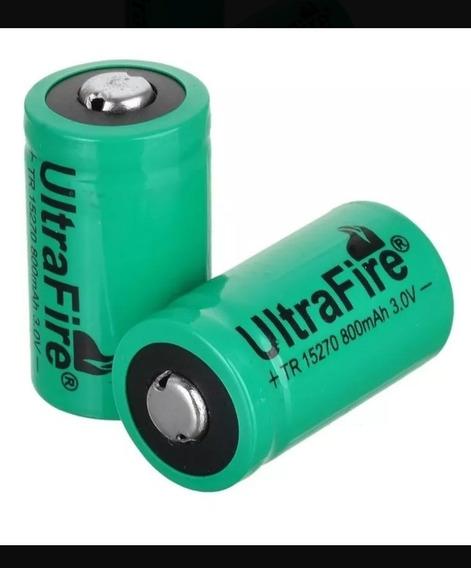 Bateria Cr3-3v + Carregador