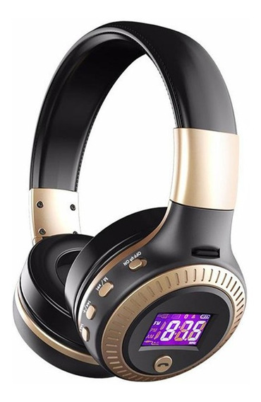 Fone De Ouvido Bluetooth Zealot B19 Headphone Micro Sd Fm