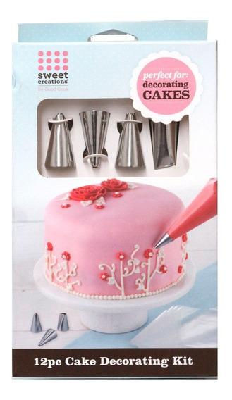 Kit Para Decorar Pasteles Sweet Creations 12 Pzs