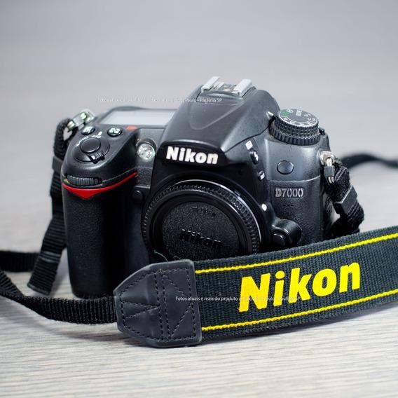 Câmera Nikon D7000 Só 63.000 Cliques (usada) Só Corpo