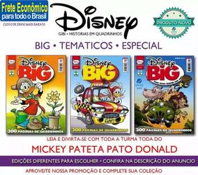 Disney Big Especial Temáticos Mickey Donald