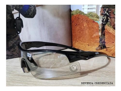 Óculos De Proteção Balístico Tático Exit Uvex Inout Original