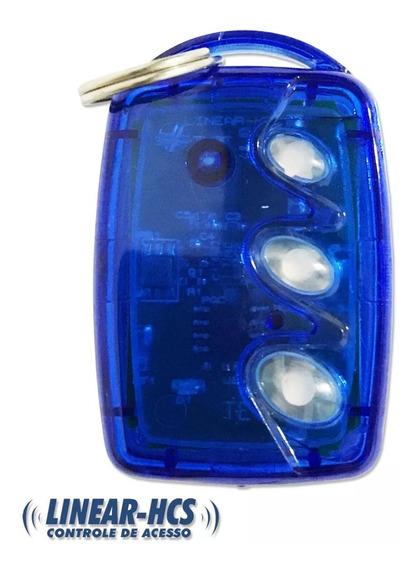 Controle Portão Automático Linear Hcs 433,92 Mhz 3 Botoes