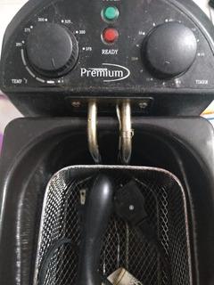 Freidora Eléctrica Marca Premium Usada, Capacidad 3 Litros