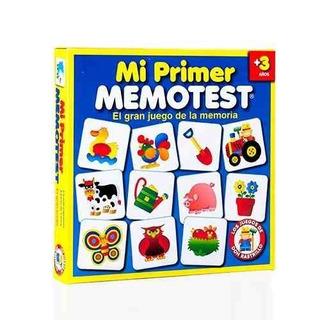 Mi Primer Memotest Juego De La Memoria Ruibal Original