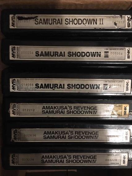 Samurai Shodown 4 Iv Neo Geo Mvs Original