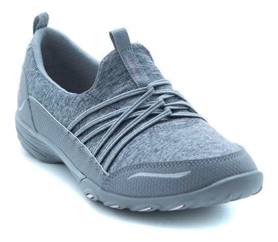 Tenis Skechers Sports Solo Mood 23118 Gris Memory Foam
