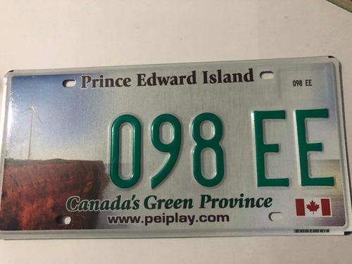 Placa De Canadá Original Para Decoración O Colección