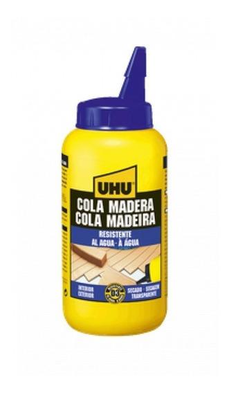 Uhu Cola Madera Resistente Al Agua Pegamento 250g - Adhesivo
