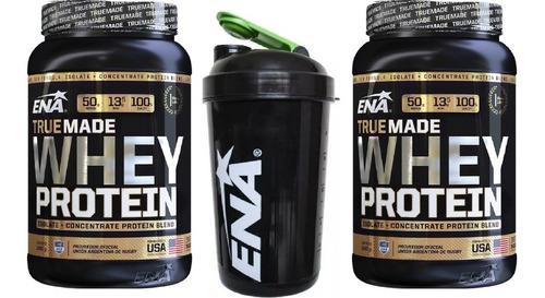 2 True Made X 1kg Ena + Vaso Shaker Ena White De Regalo