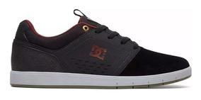 Tênis Dc Shoes Thesis Imp Black/grey Original Frete Grátis