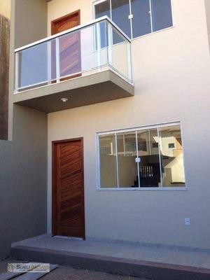 Casa Com 2 Dormitórios À Venda, 96 M² Por R$ 250.000 - Residencial Verdes Mares - Macaé/rj - Ca0469