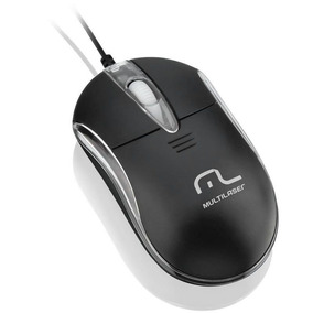 Mouse Óptico Usb Classic Mo179 Multilaser 20738
