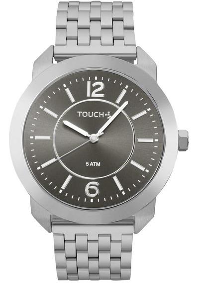 Relógio Touch Feminino Elas Podem Sim Prata - Tweu2035ylg/3c