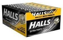Balas Drops Halls Caixa Com 21 Unidades