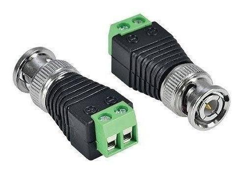 Conector Bnc Borne Com 100 Unidades