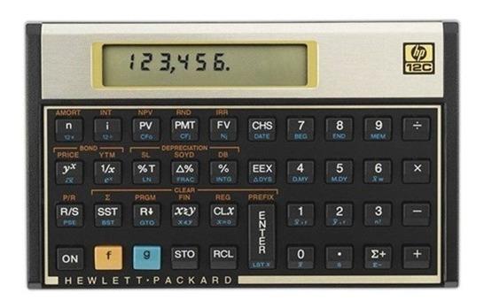Calculadora Hp12c Financeira Usada Como Nova Top