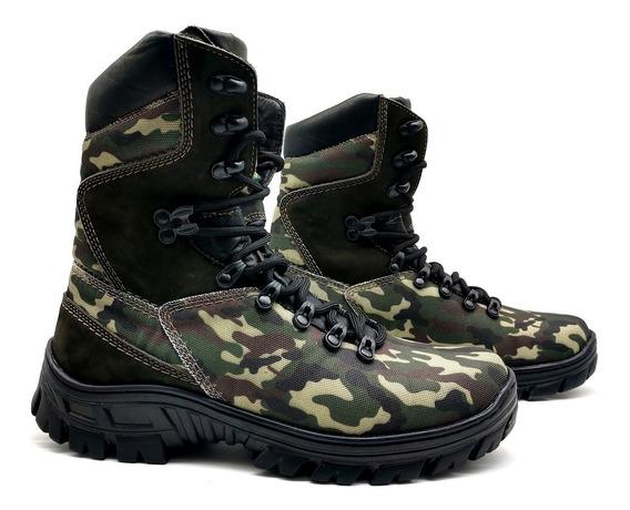Bota Coturno Militar Tático Frete Grátis Bmbrasil 5184