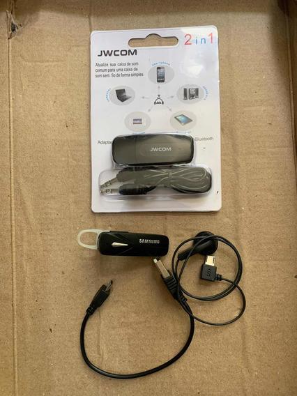 Fone Bluetooth + Bluetooth Usb E P2