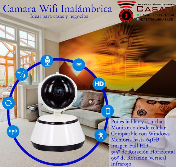 Camara Wifi Robot 355°