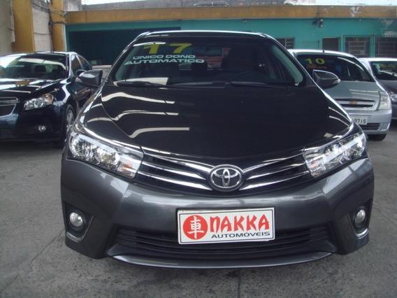 Toyota Corolla Gli 1.8 Flex 2017 ,automático, Único Dono