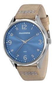 Relógio Unissex Mondaine Pulseira Couro 76622g0mvnh1