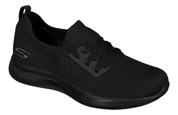 Calzado Skechers Dama 32800bbk Negro