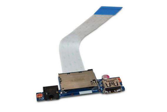 Placa Áudio Usb Leitor Cartão Lenovo G40-70 Ns-a271