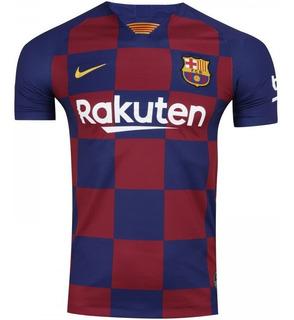 Camisa Do Barcelona 2019/2020 S/nº Torcedor Nike Masculina
