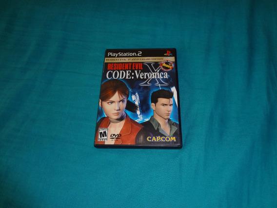 Resident Evil Code Veronica 05th Ann Edition Ps2 Raro